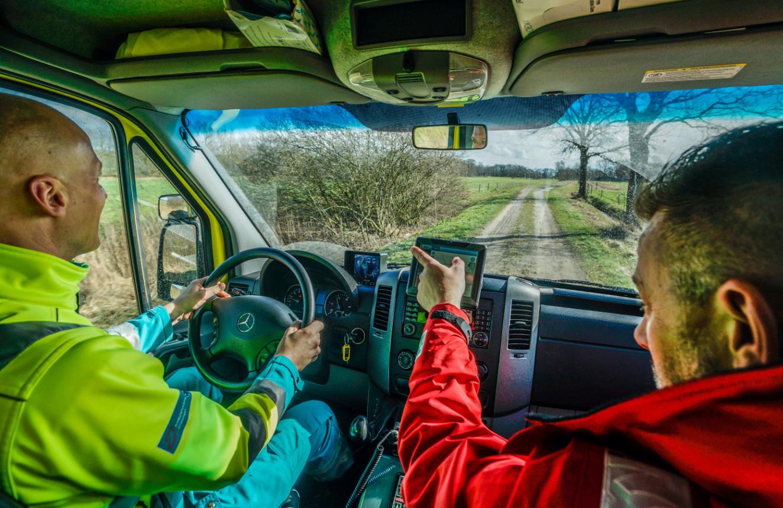 Ambulancezorg Groningen - Rijtraining