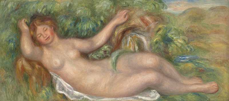 Renoir's La source (Nu allongé) was sold by Christie's London for £5.081 million in June 2011