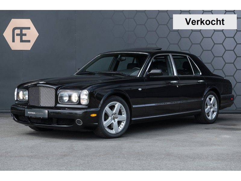 Bentley Arnage 6.8 V8 T Mulliner Black badge + Mulliner + Recent onderhoud afbeelding 1