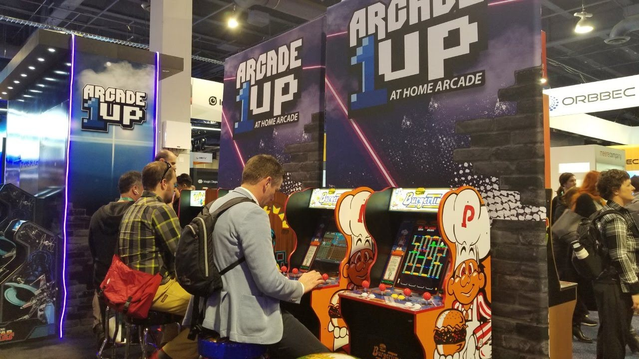 Arcade 1Up pop up at the 2019 Consumer Electronics Show
