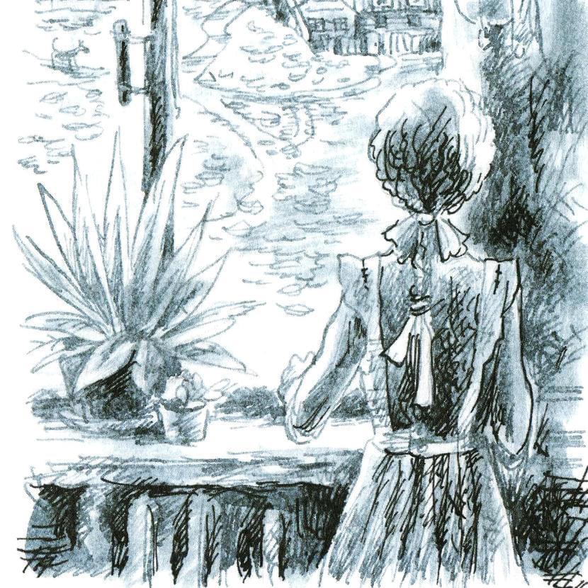Иллюстрация изкниги «Сахарный ребенок». Художник: Мария Пастернак