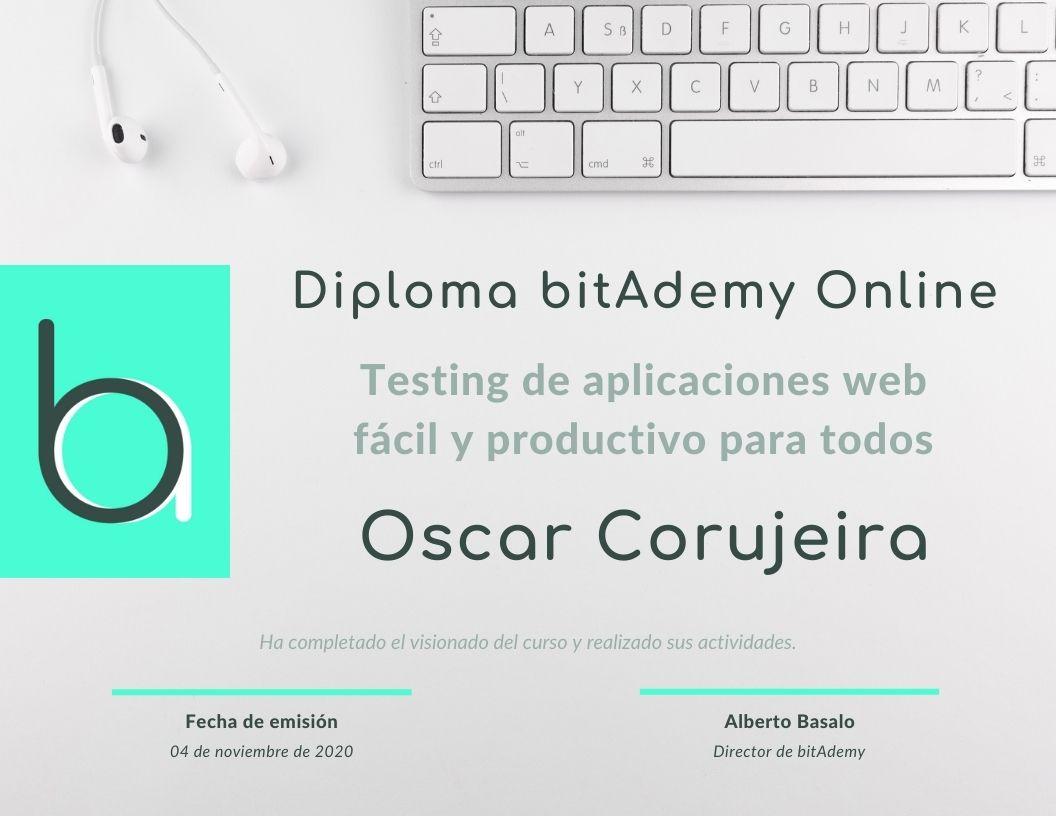 🎓 Oscar Corujeira