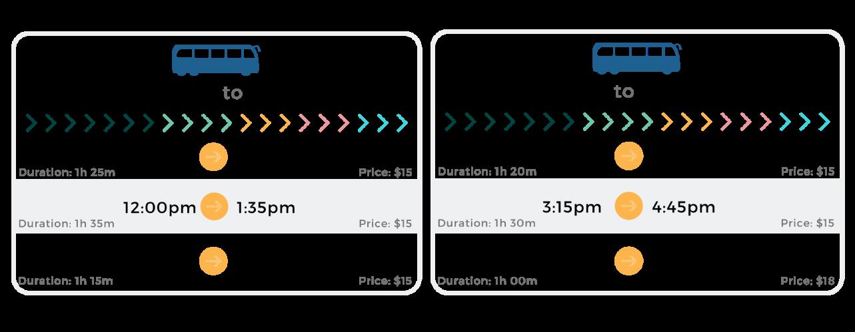 CA Express Schedule