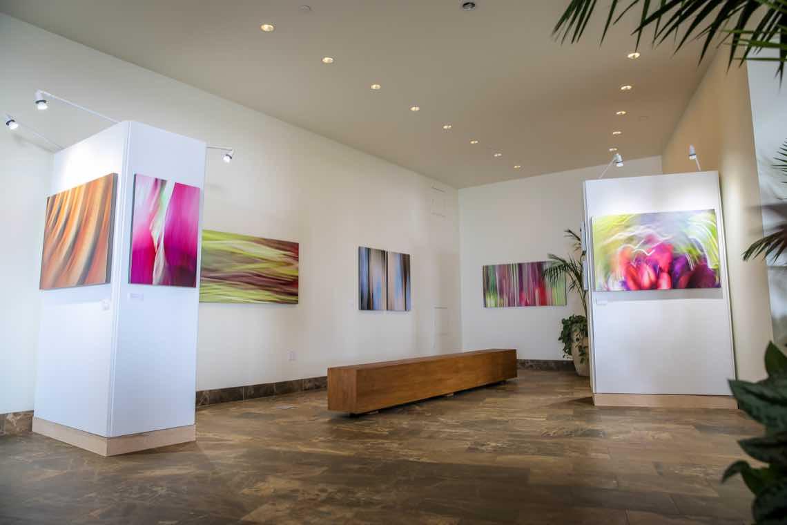 Shane Robinson's new art gallery at Andaz Maui at Wailea
