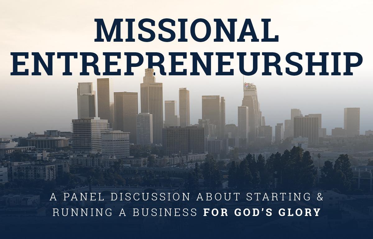 Missional Entrepreneurship
