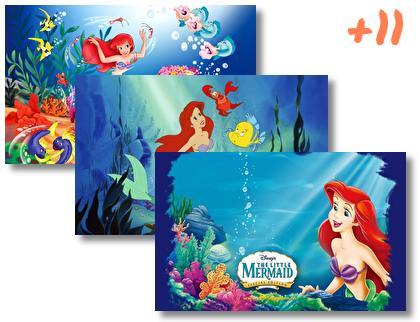 Little Mermaid theme pack