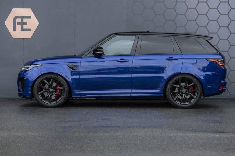Land Rover Range Rover Sport SVR 5.0 V8 SC ESTORIL BLUE afbeelding 2