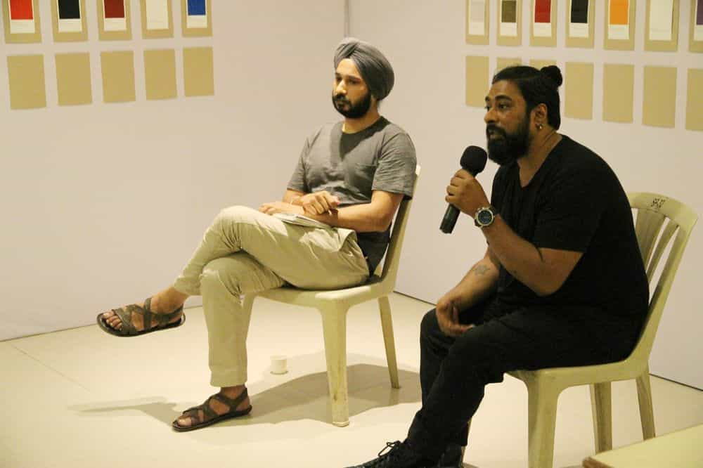 Performance and conversation with Ramneek Singh, Limitations of Liability, Mumbai Assembly, 2017