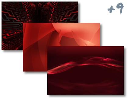 AbstractRed theme pack