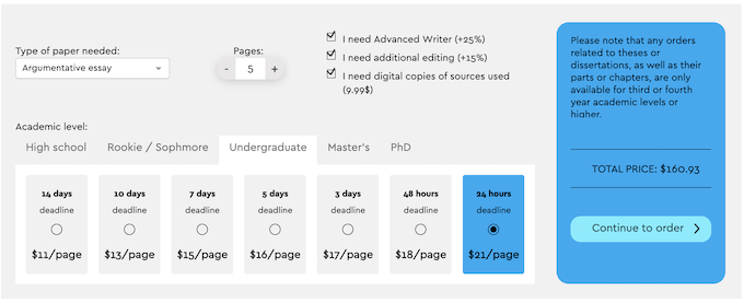extraessay.com price calculation
