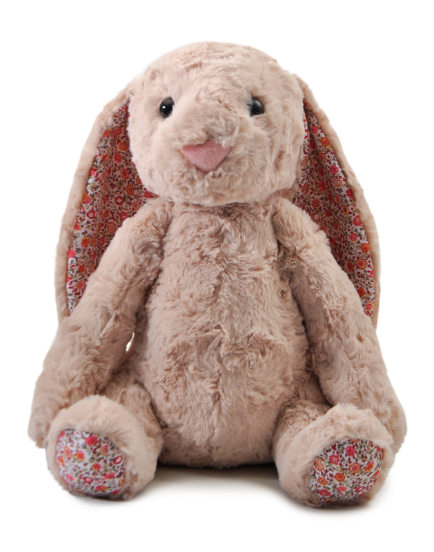 "The Petting Zoo: 12"" Brynn Bunny With Floral Accents"
