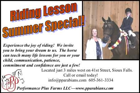 Performance Plus Arabians LLC