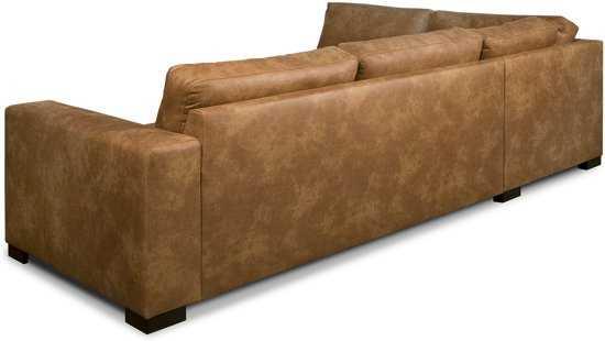 Isofa Dito Hoekbank Leer Cognac 9200000074103892_3 Leer