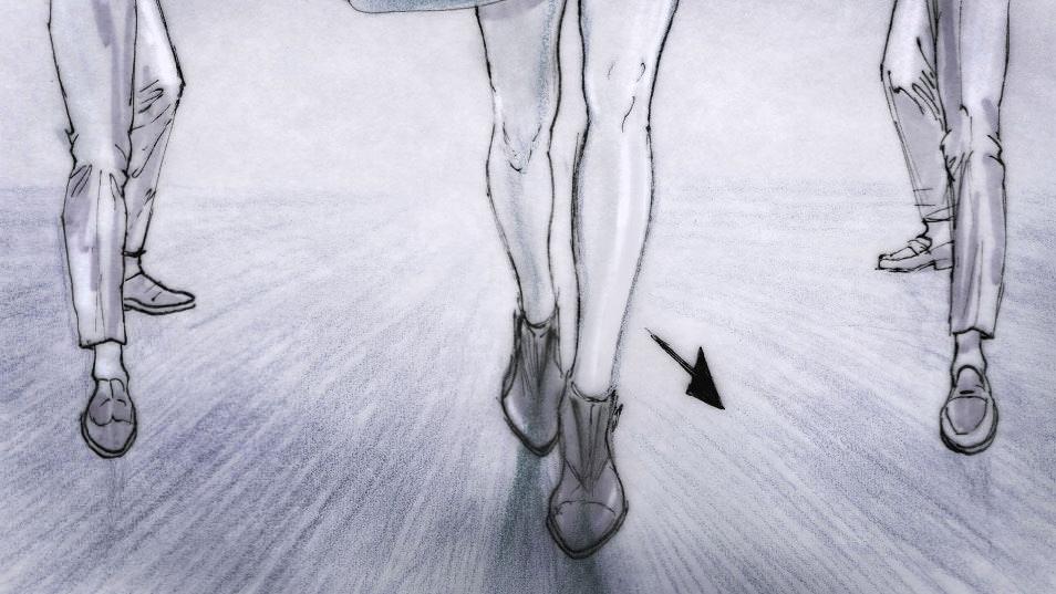 Dancing Feet Story branding pitch storyboard 021