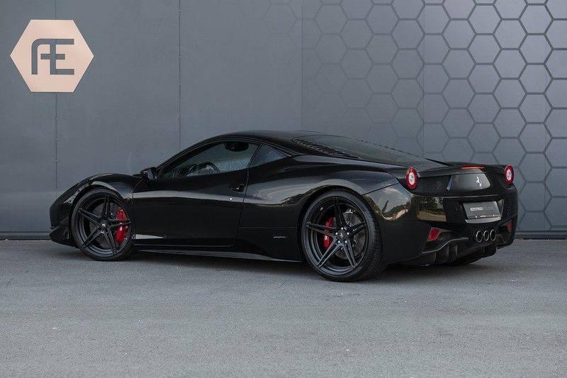 Ferrari 458 4.5 V8 Italia New Power Garantie T/M 12-03-2022, Carbon Sport Seats, Custom Exhaust, Carbon exterieurdelen afbeelding 3