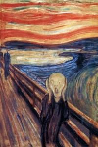 Edvard Munch - Strigatul