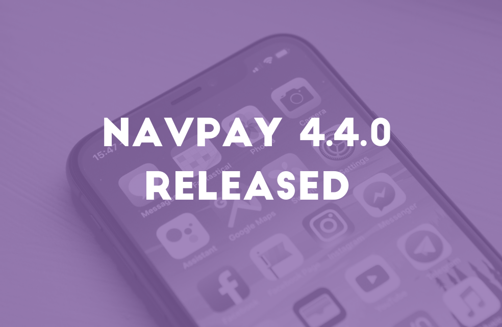 NavPay 4.4.0 Released