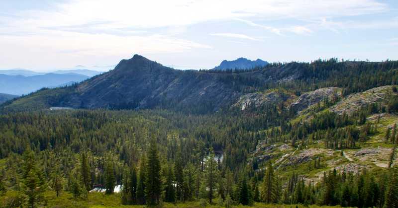 A glimpse of Castle Crags