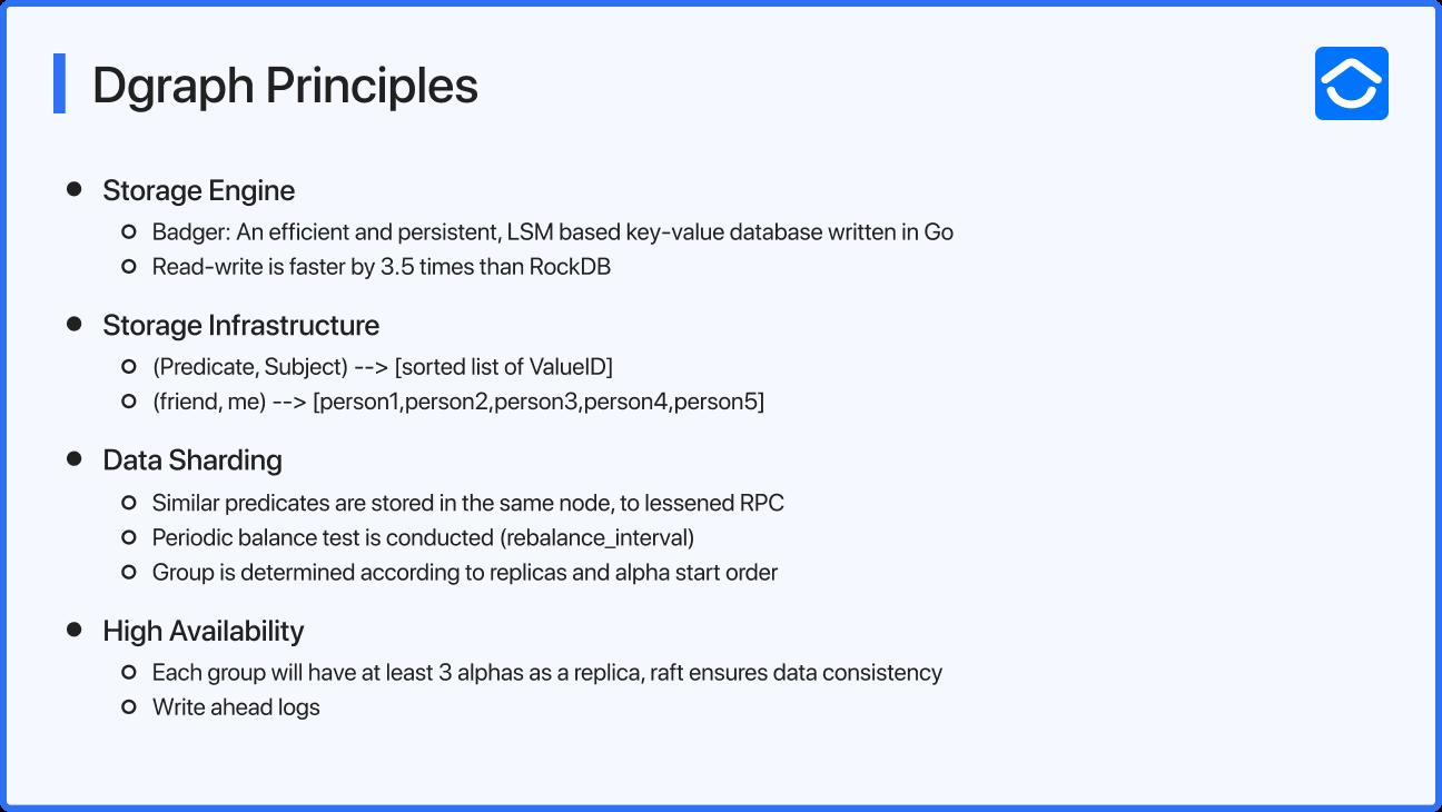 Dgraph Principles