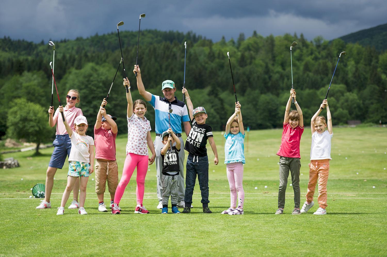 organizácia firemnej golfovej túry s family day