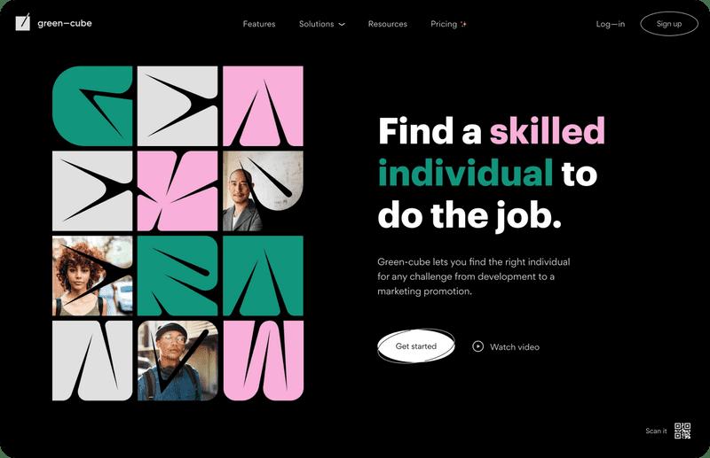 Single brand website