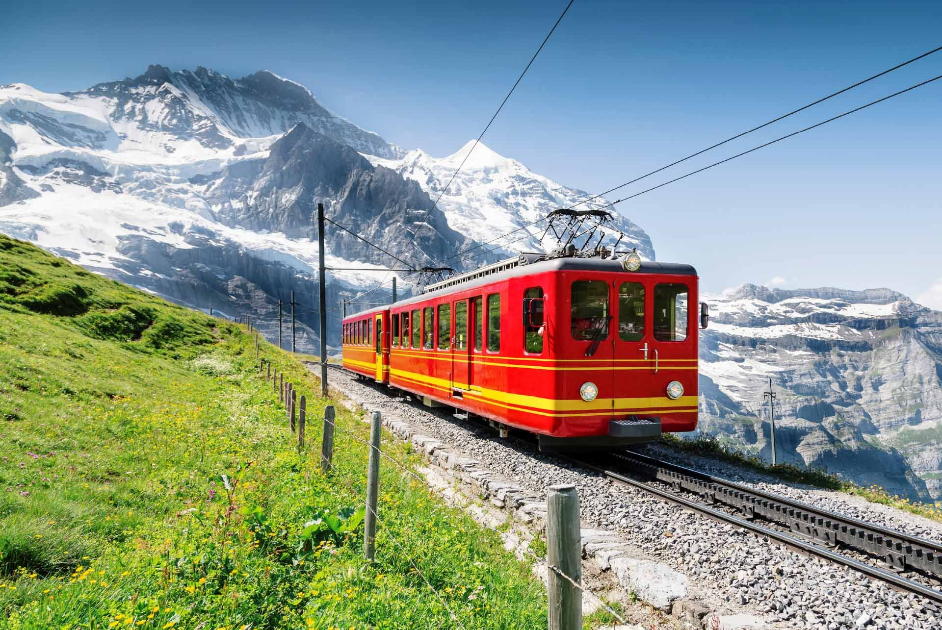 Excursion to Jungfrau