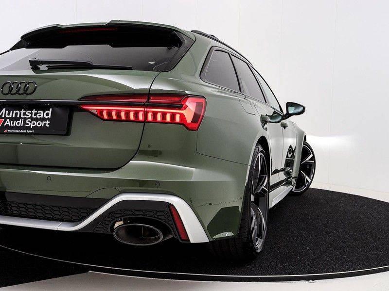 Audi A6 Avant RS 6 TFSI 600 pk quattro | 25 jaar RS Package | Dynamic + pakket | Keramische Remschijven | Audi Exclusive Lak | Carbon | Pano.dak | Assistentie pakket Tour & City | 360 Camera | afbeelding 21
