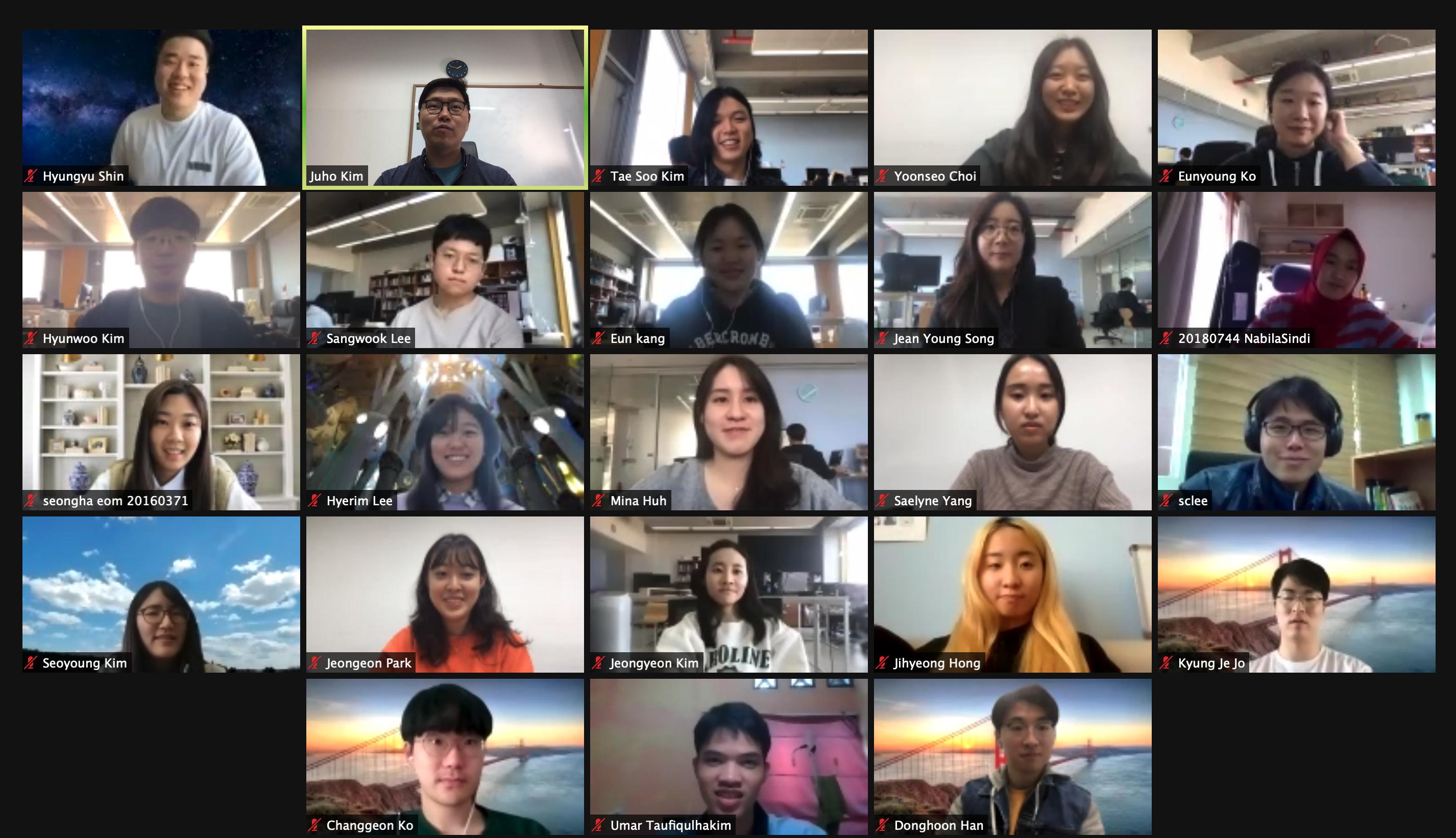 Photo of KIXLAB group, November, 2020