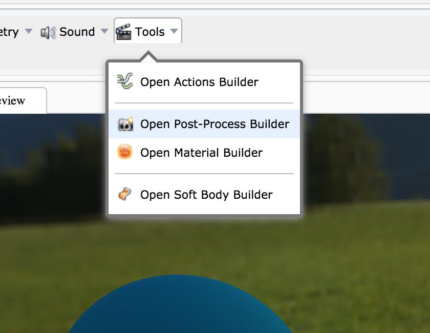 OpenPostProcessBuilder
