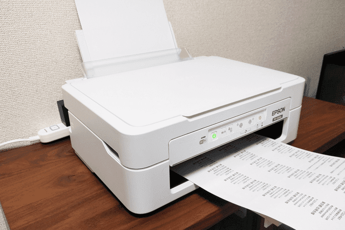 ラベルの印刷