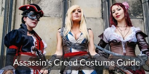Dress like characters from Assassins Creed for your Halloween or Costume Party