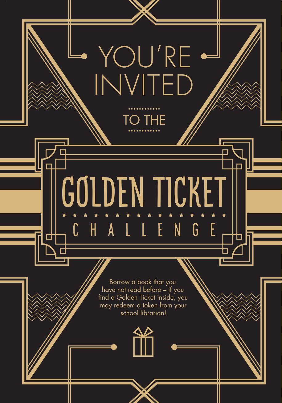 Golden ticket image