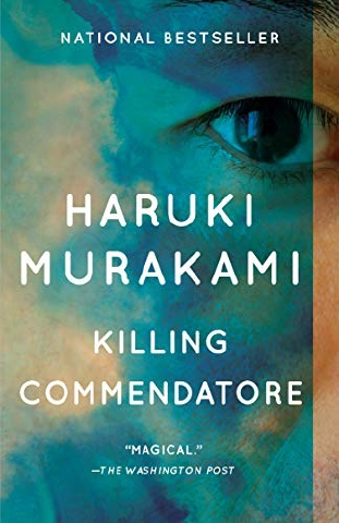 Book cover of 'Killing Commendatore'