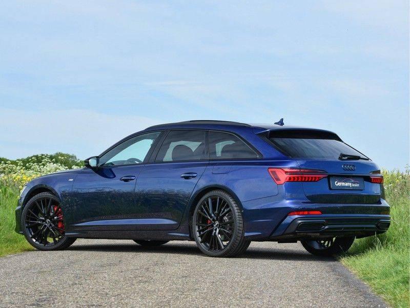 Audi A6 Avant 55TFSI 367pk S-Line Quattro Black Optic Navarra Pano Led Zetels Audi-Sound M-Led Priveglas afbeelding 7