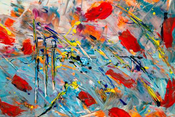 multicolored abstract painting 1266808