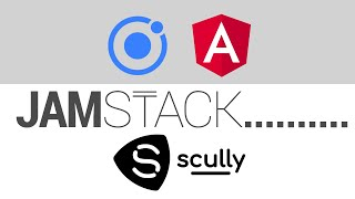 Ionic 5 Angular in the JAMstack