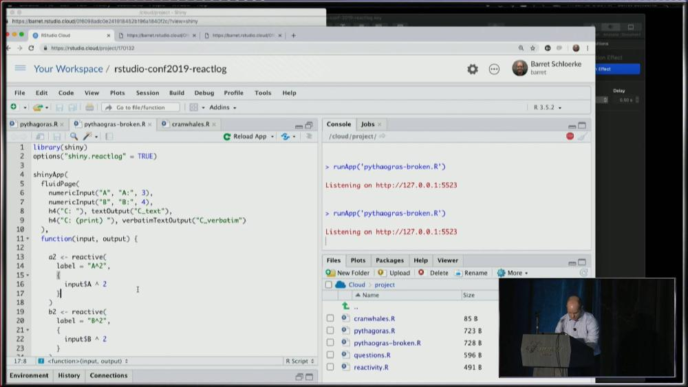 Reactlog 2.0: Debugging the state of Shiny