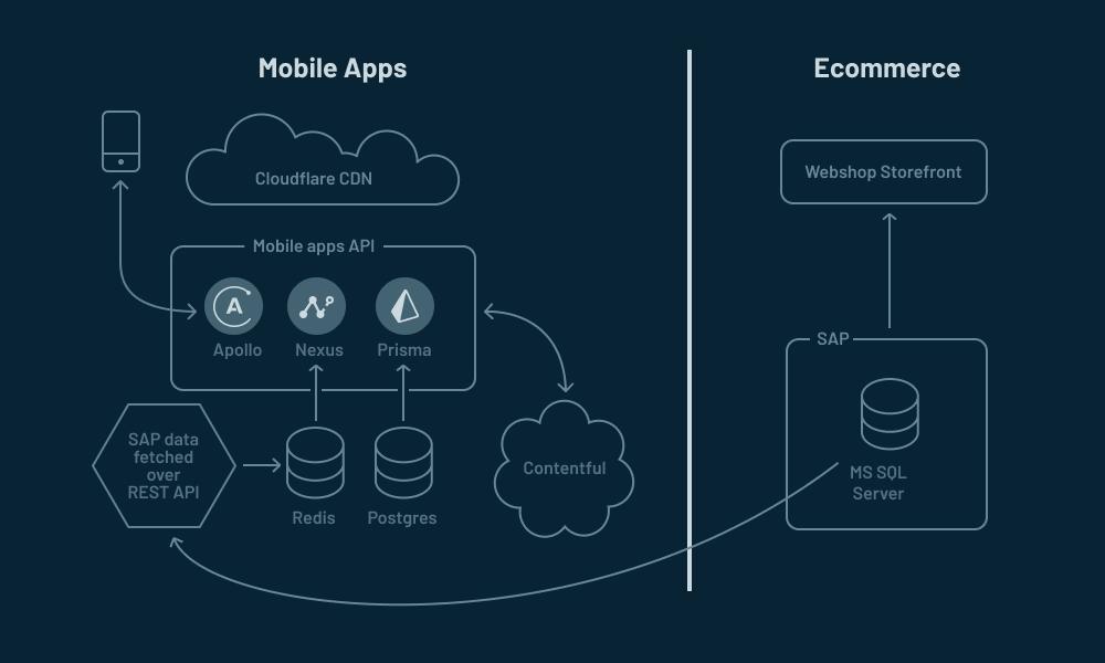 Rapha's data architecture
