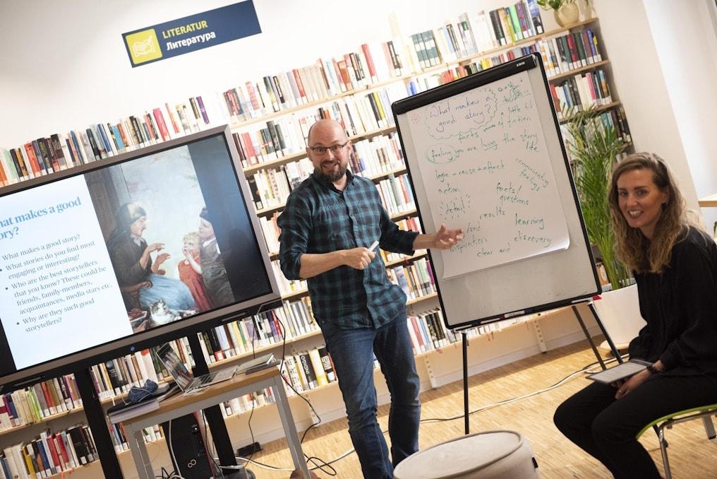 Refugee Writers Workshop at the Goethe Institut