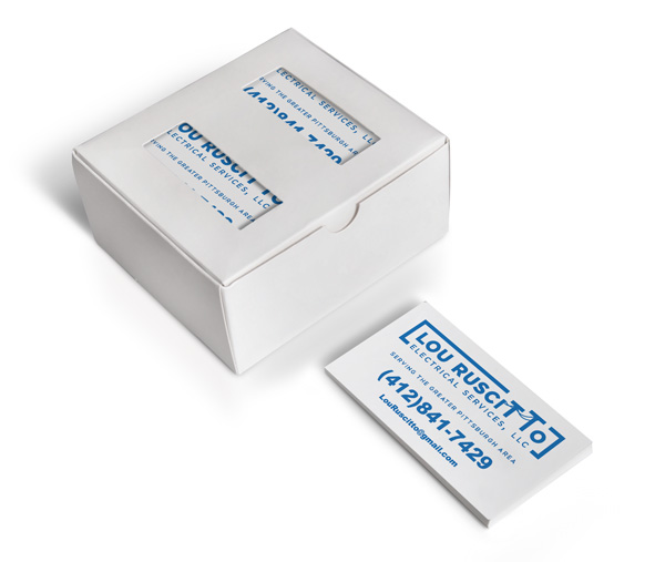 Lou Ruscitto business card box