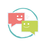 Two chat icons