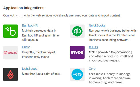 Convenient partner integrations