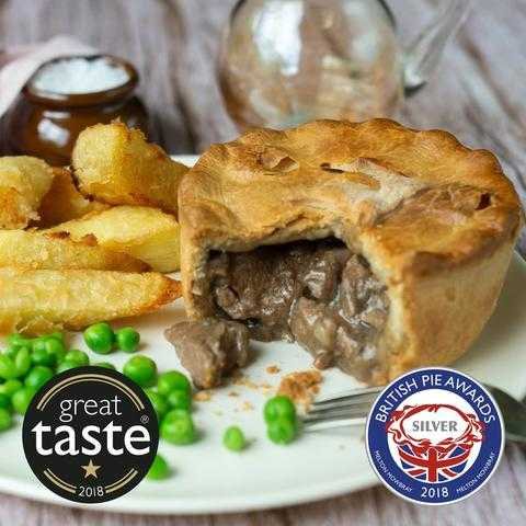 Lamb, Redcurrant and Rosemary Pie with awards