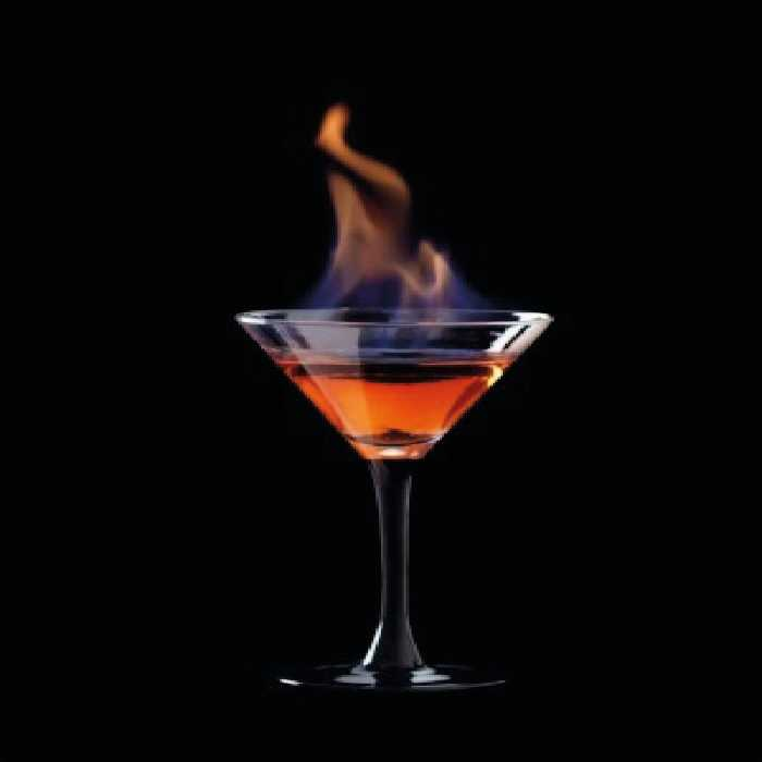 Flaming Lamborghini Cocktail