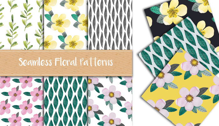 floral and botanical patterns item thumbnail