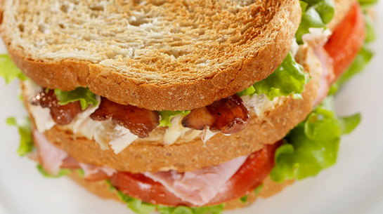 Chicken BLT with Green Pepper Mayo