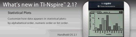 TI-Nspire OS 2.1