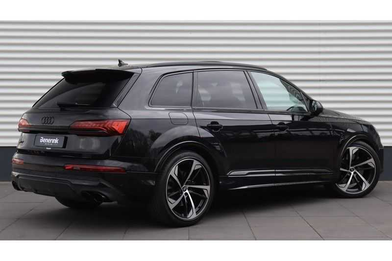 Audi SQ7 4.0 TDI 435pk quattro 7p Panoramadak, BOSE, Massage, Ruitstiksel, Trekhaak afbeelding 3