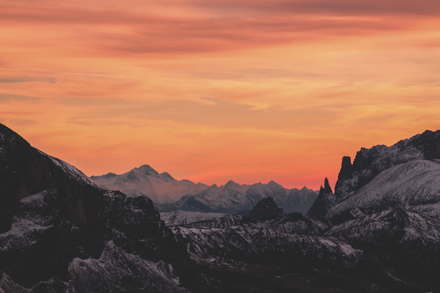 An image of mountains