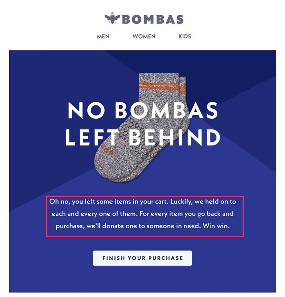 Bombas left behind